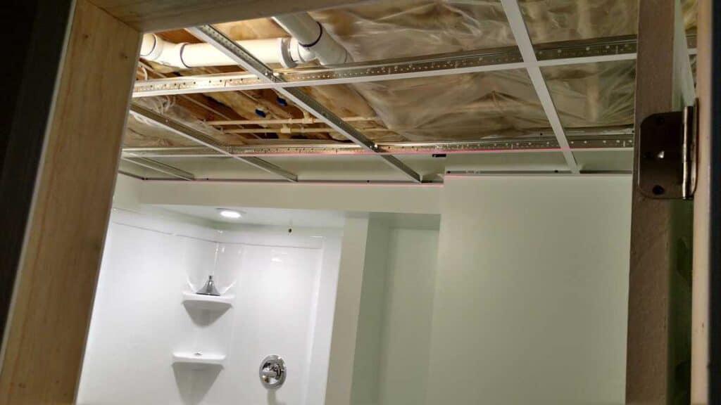 drop ceiling frame