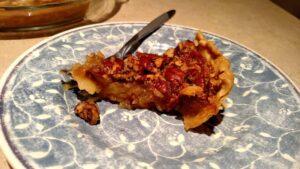 piece of pecan pie