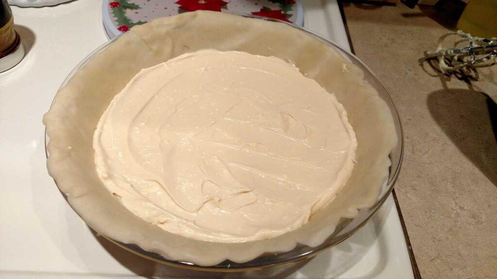 cream cheese in pie crust