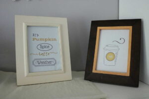 pumpkin spice latte weather printable