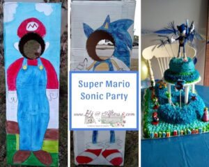 Sonic Mario Photo Booth https://www.b4andafters.com