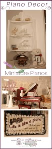 miniature pianos