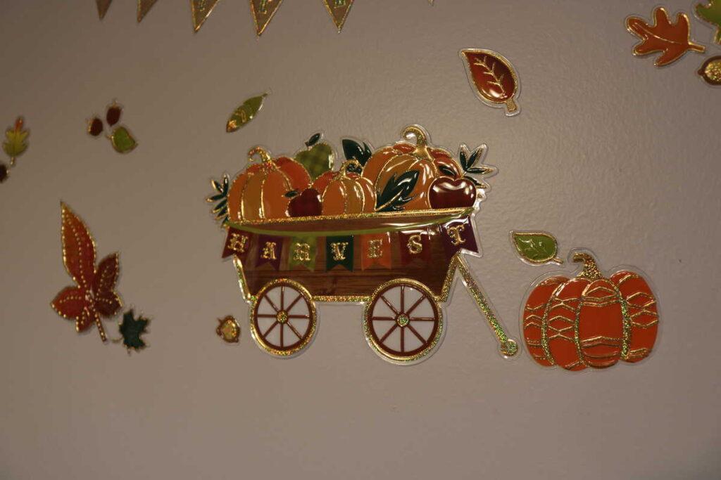 fall Harvest basket sticker