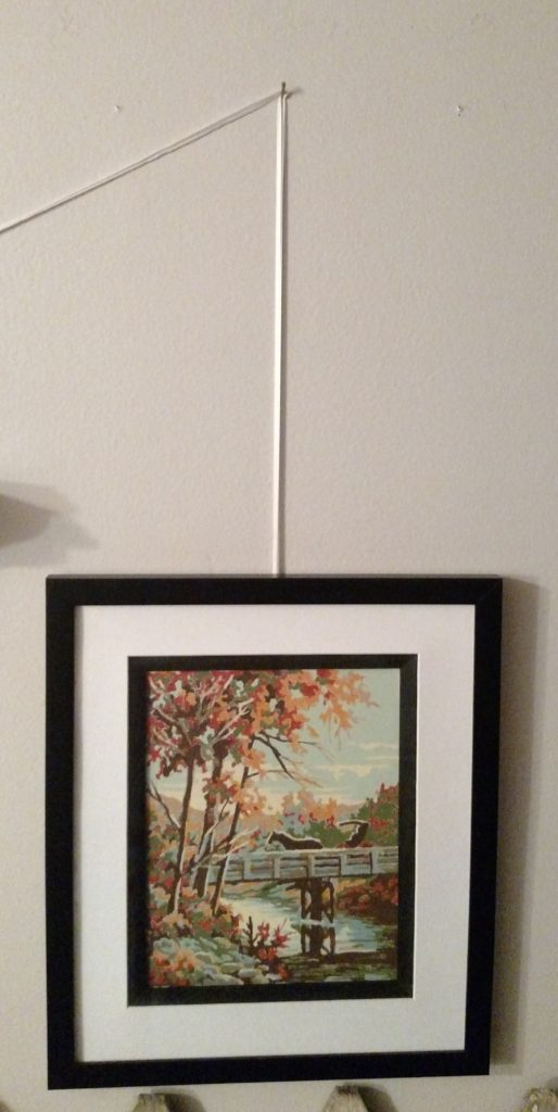 ribbon with fall painting