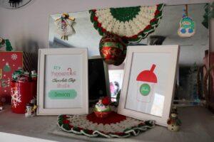 Christmas drink printables