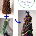 Miniature Christmas Pine Cone Tree