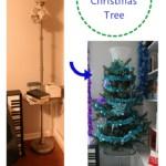 Floor Lamp to Christmas Tree