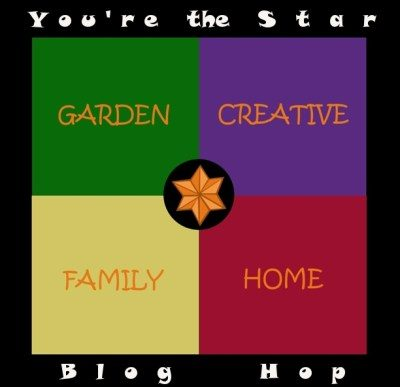 graphic that says Garden, Creative, Family, Home