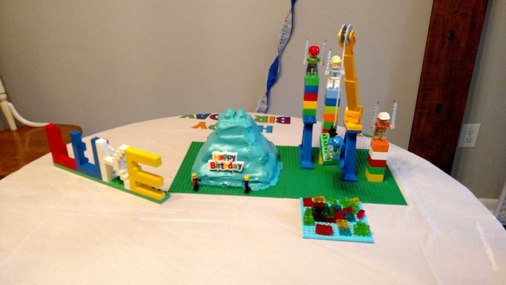 Lego Cake www.b4andafters.com