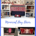 Sweet Land of Liberty Memorial Day Decor in a living room