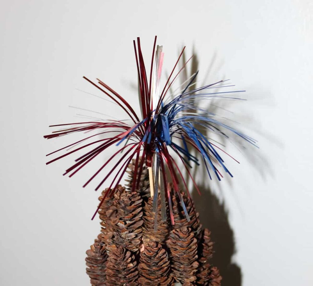 fireworks toothpick topper