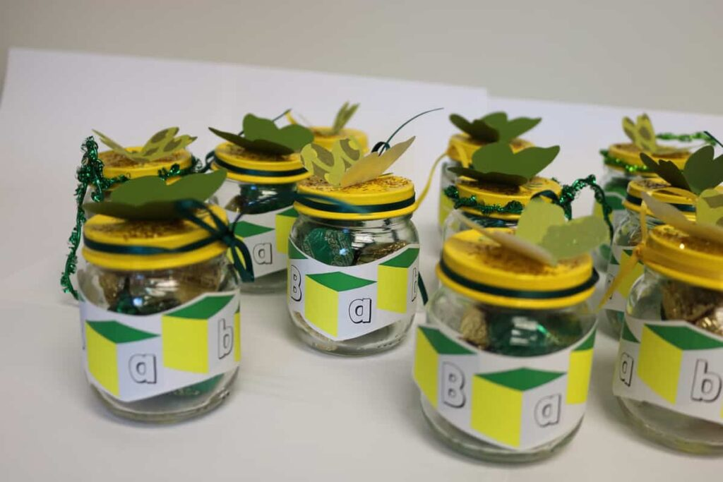 labels on jars https://www.b4andafters.com/Baby-Shower-Favors