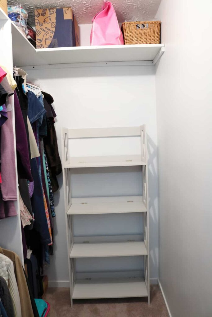 Master Closet Makeover www.B4andAfters.com