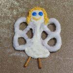 White Chocolate Pretzel Angel