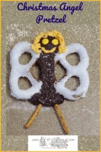 Dark Chocolate covered Angel Pretzel