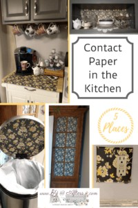 contact paper 5 places in my kitchen