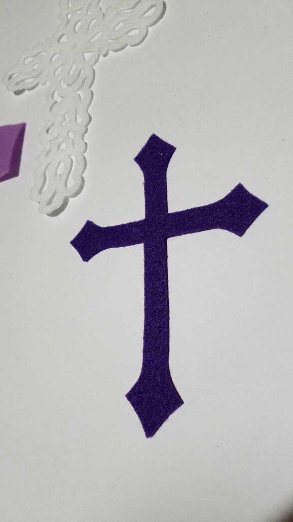 felt cross