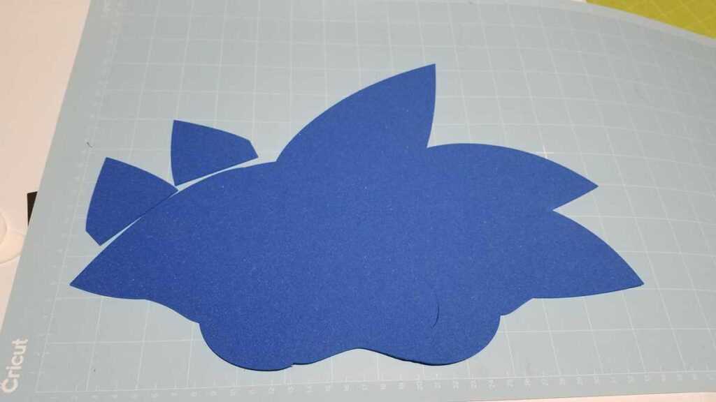 outline of blue sonic head