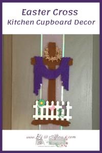 Easter Felt Cross