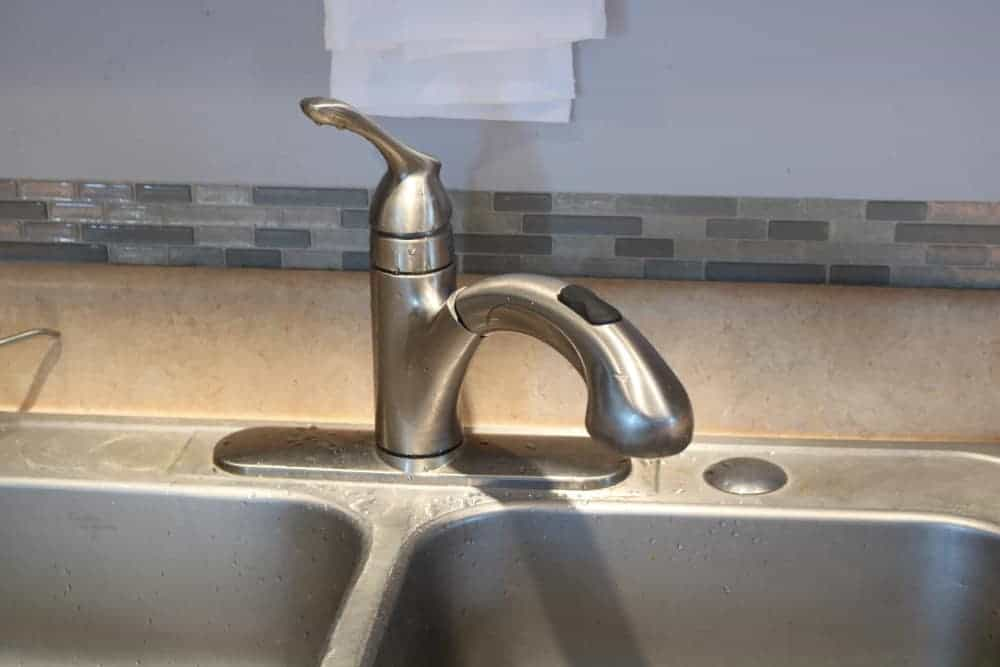 old kitchen faucet