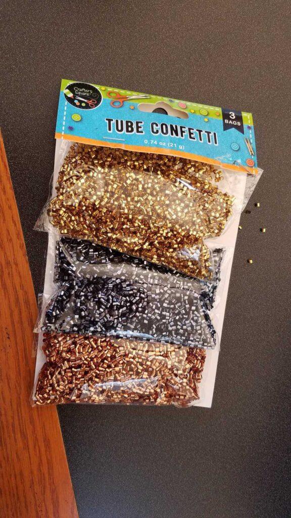 tube confetti