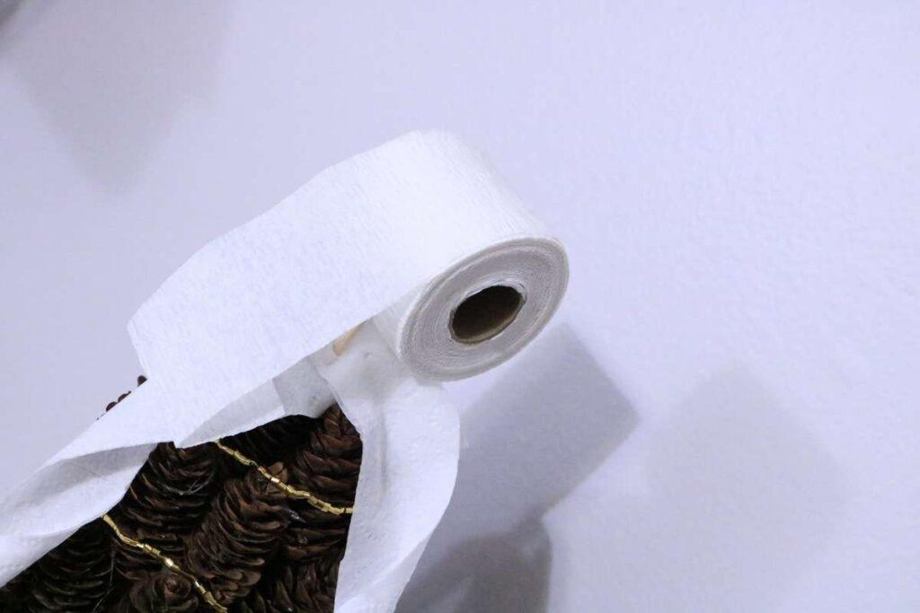 toilet paper tree topper