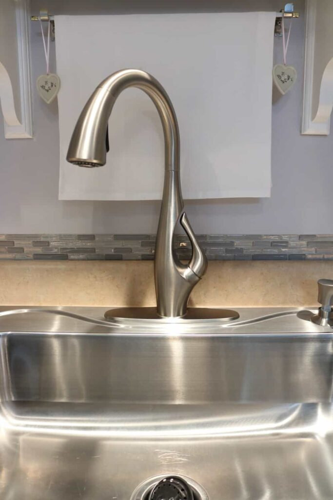 new tall faucet