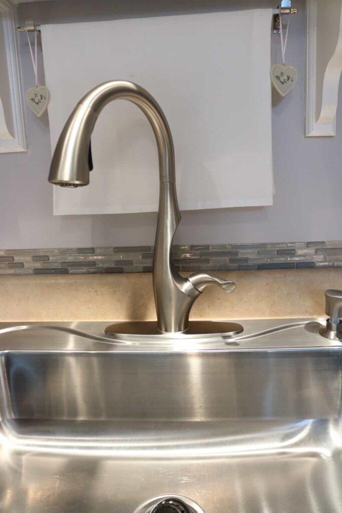 faucet position off