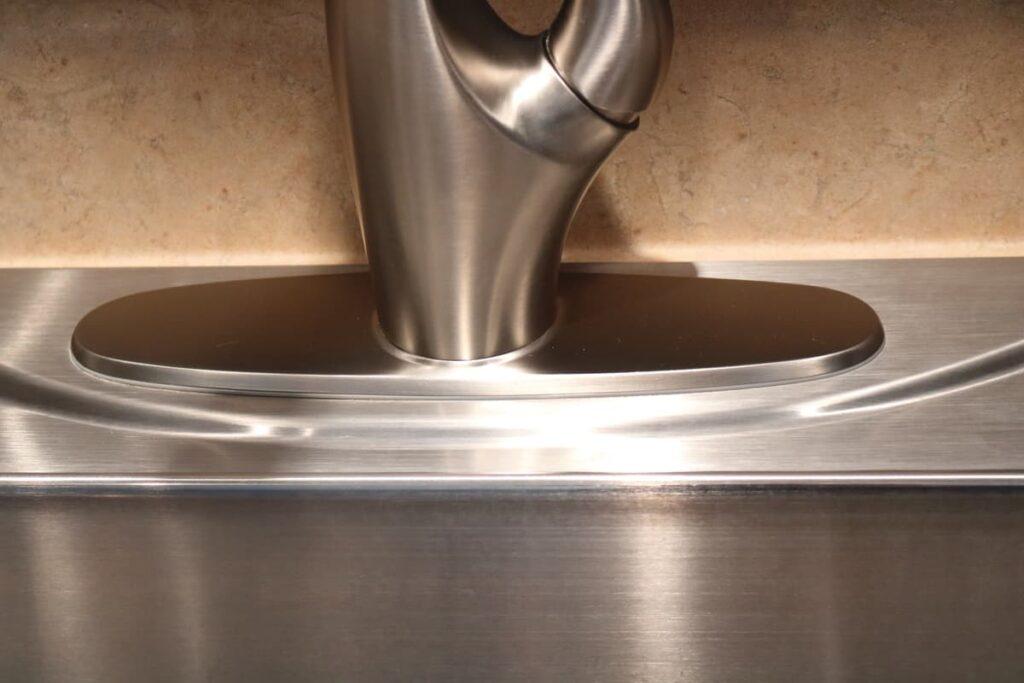 faucet plate