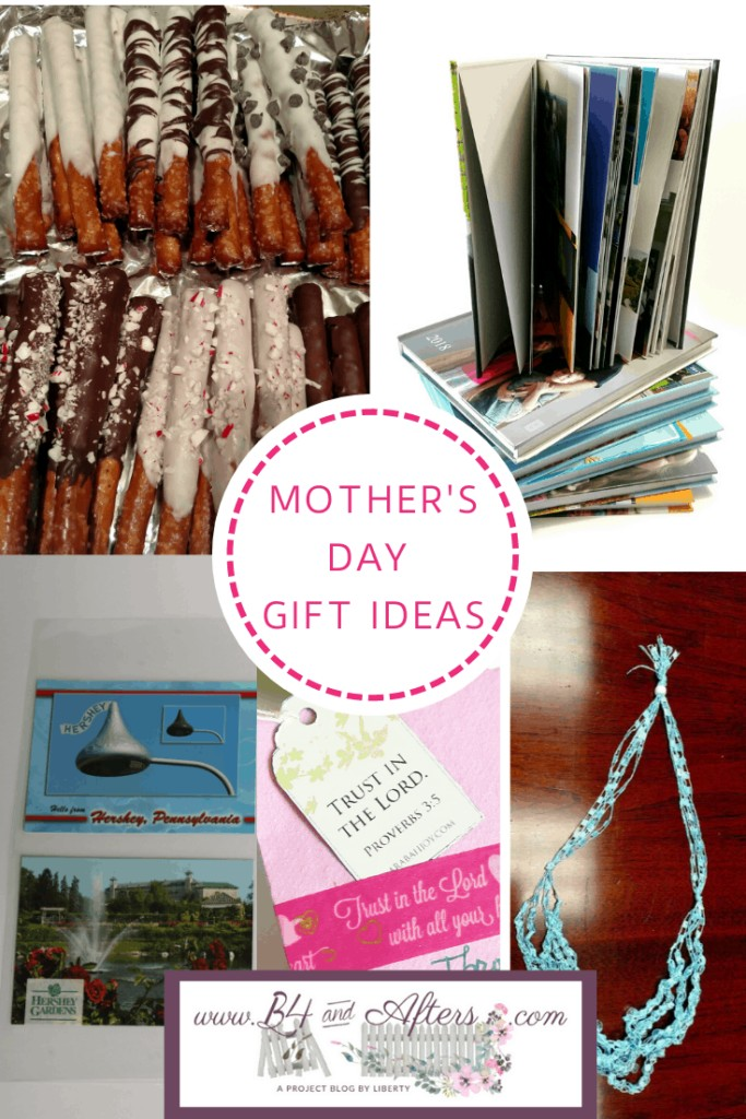 Mother's Day gift ideas collage