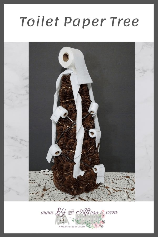 toilet paper craft tree