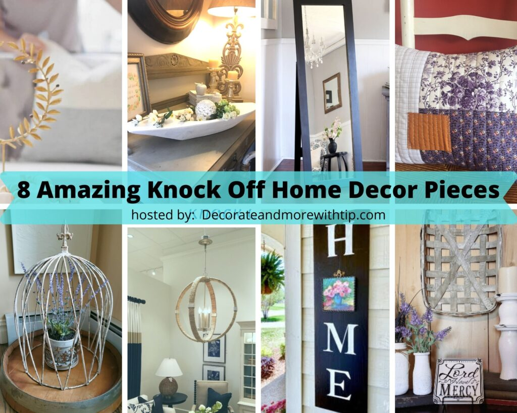 8 Amazing Home Decor Knock Off Pieces