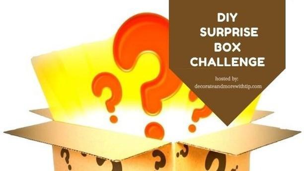 DIY surprise box challenge graphic