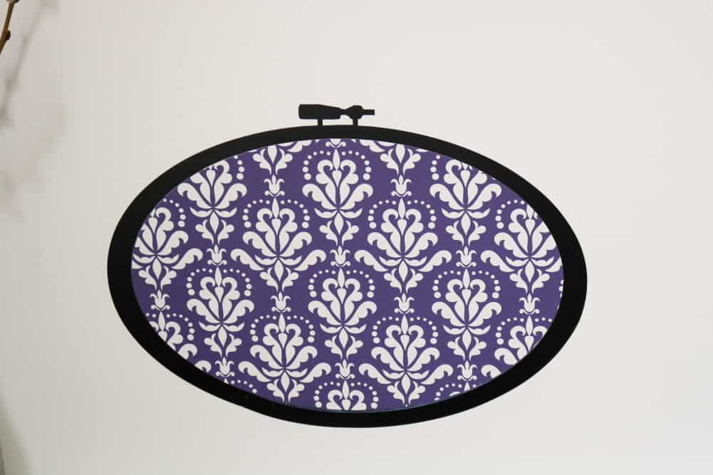 2D fabric hoop