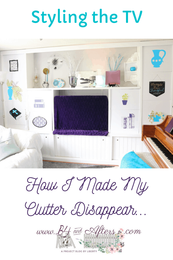 How I made my clutter disappear graphic
