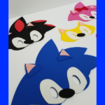 Sonic and friends Face Masks