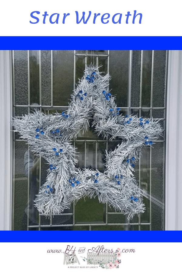 Star Wreath Pinterest graphic