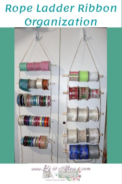 ribbon organization rope ladder