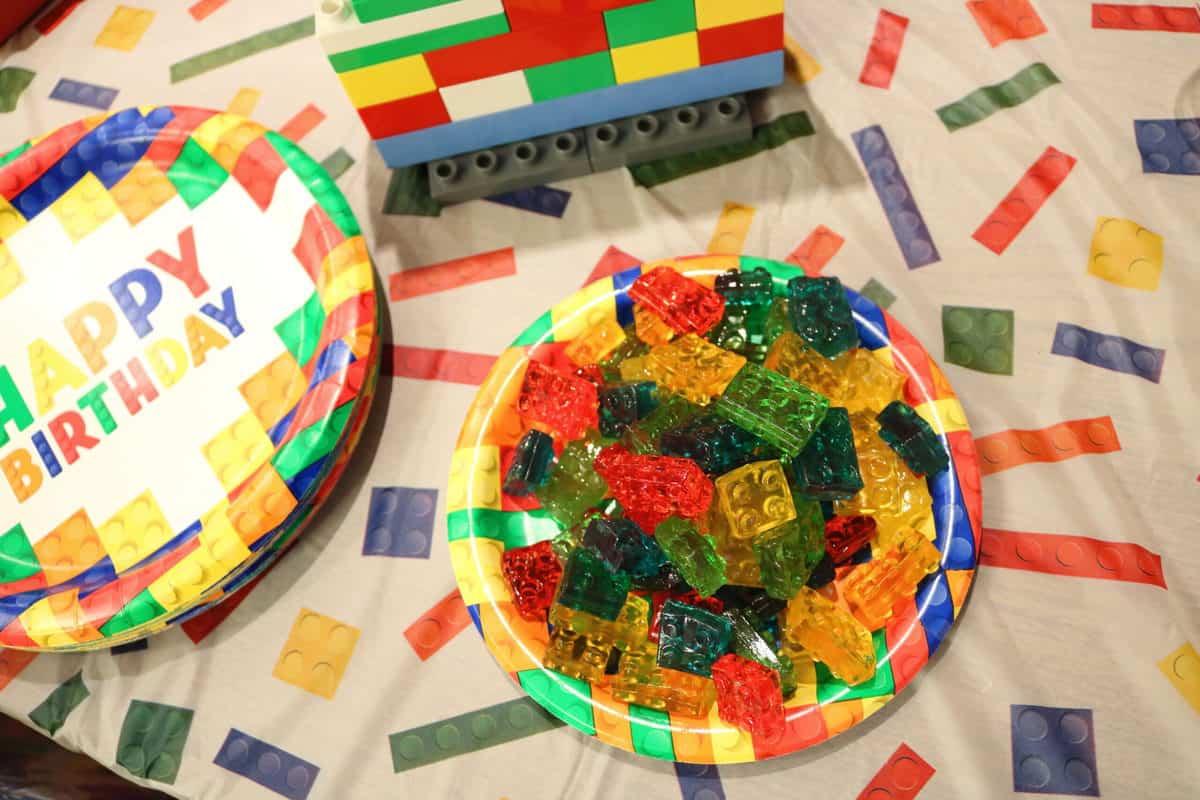 gummy LEGOS candy