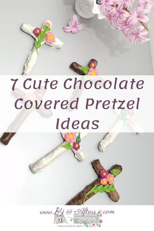 Cross Pretzels with Text across it