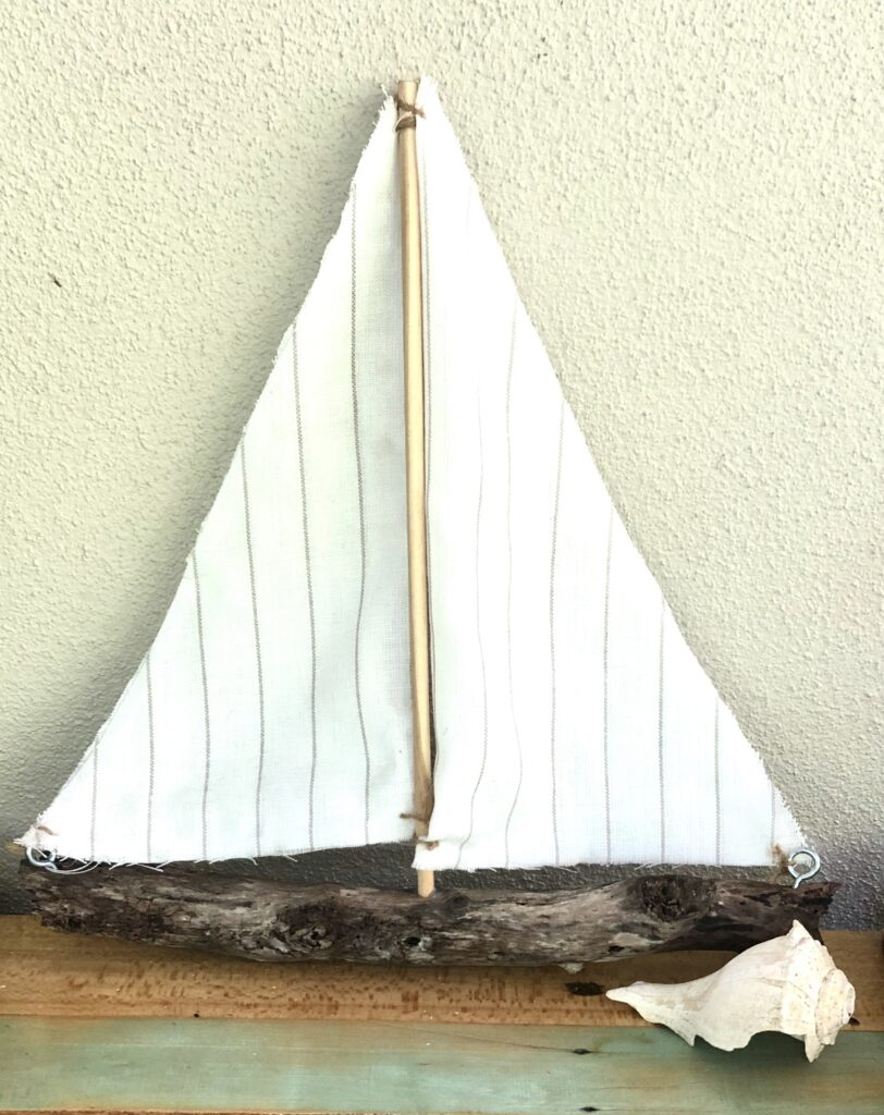 DIY sailboat