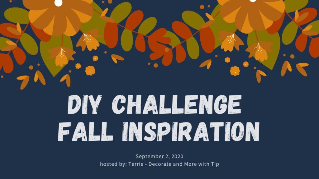 DIY Fall Challenge graphic