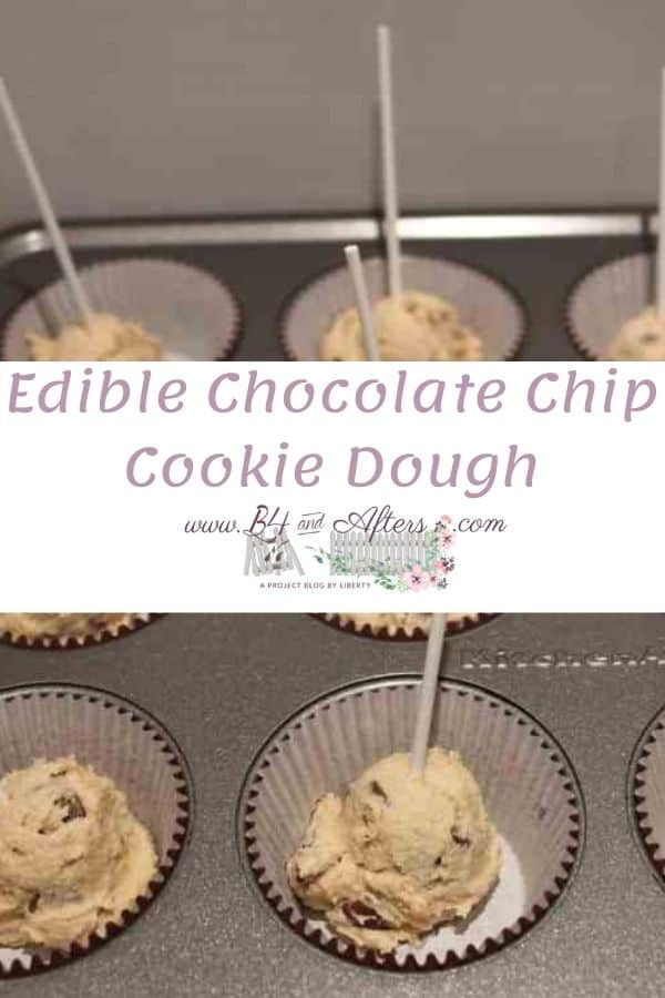 chocolate chip cookie dough that is edible