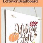 Fall Beadboard Sign