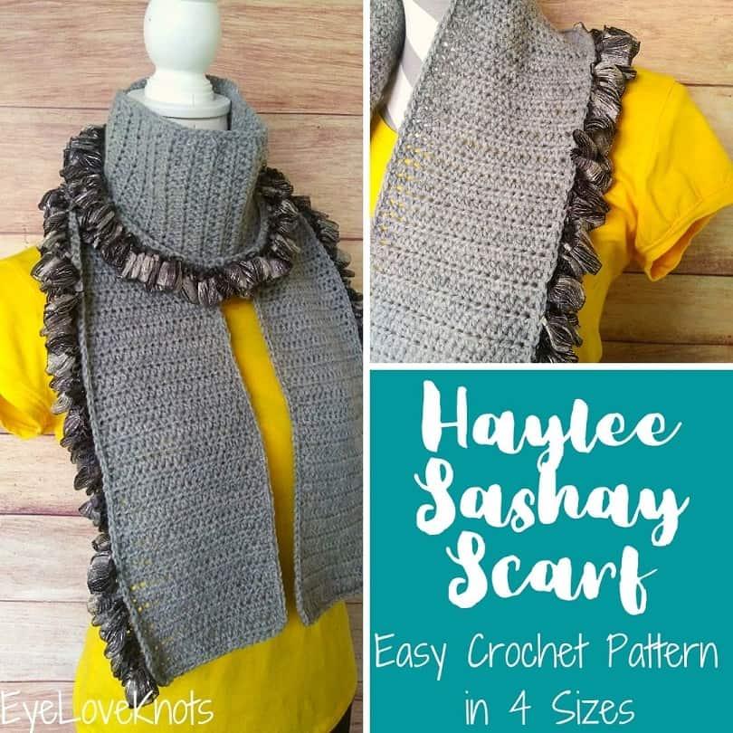 Haylee Sashay Crochet Scarf