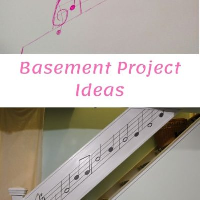 musical basement stair railing