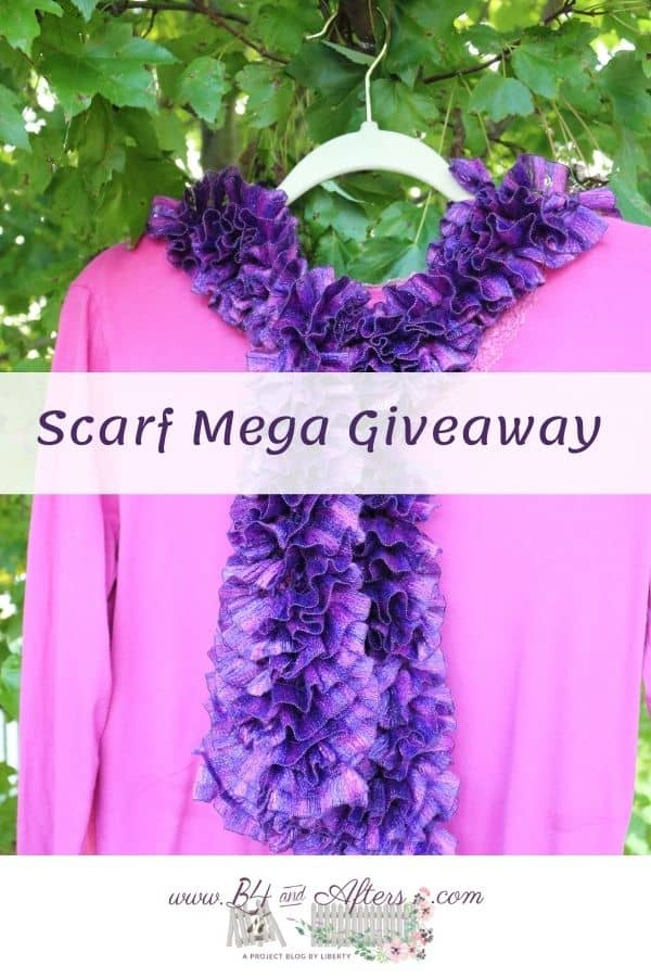 scarf for giveaway