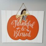 Pumpkin Beadboard sign