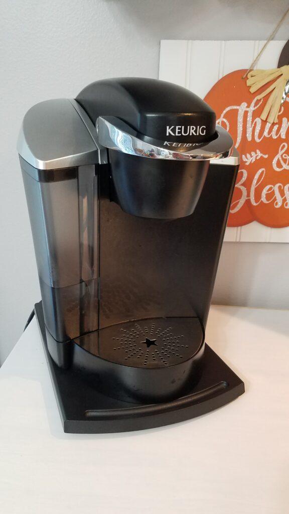 black keurig coffee maker