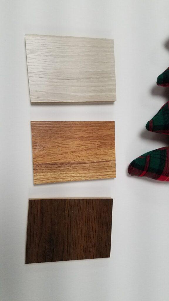 floor sample wood squares